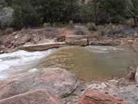 TheOak Creek Irrigation Canal