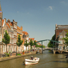 The Old Rhine In Leiden