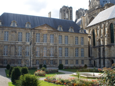 The Palace Of Tau In Reims.