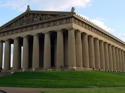 The Parthenon In Nashville's Centennial Park