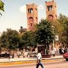 The Plaza Guillermo Baca In Downtown Parral