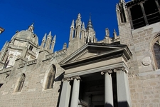 The Primate Cathedral Of Saint Mary Of Toledo In Spain