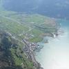 The Reuss Entering Lake Lucerne