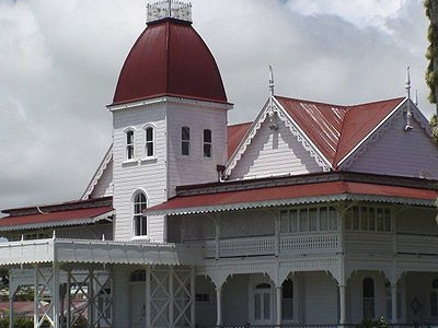 The Royal Palace - Tonga