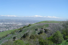 The San Gabriel Mountains From The South