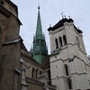 The St. Pierre Cathedral In Geneva