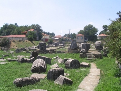 The Temple Of Athena Alea At Tegea