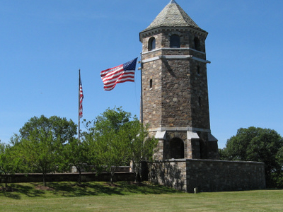The Tower On Fox Hill In Henry Park