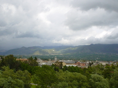 The Town Of Cassino From The Upper Part Of The Town.
