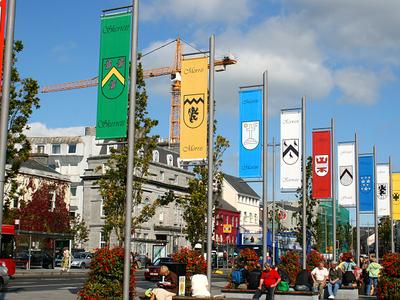 The Tribes Of Galway Eyre Square