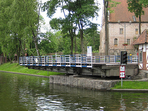 El puente giratorio