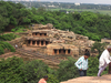 The Udayagiri Caves From Khandagiri