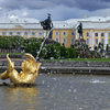 The Upper Gardens Of Peterhof