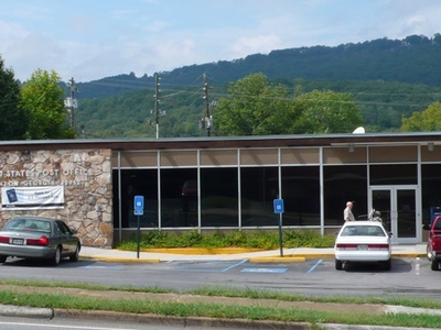 The U.s. Post Office In Trenton Georgia.