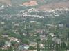 The View Of Hacienda Heights With Hsi Lai Temple And Puente Hil