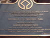 The World Heritage Site Plaque
