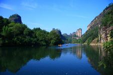 The Wuyi Mountains In Fujian China
