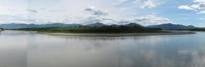 The Yukon River At Eagle Ak