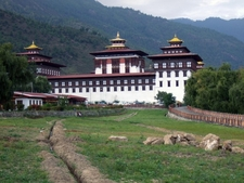 Thimpu Trashi Chhoe Dzong Aussen