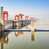 Three Gorges Dam Near Sandouping