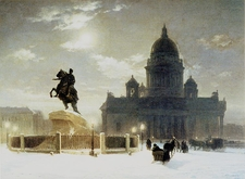 Thunder Stone With Horses - Saint Petersburg - Russia