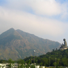 Tian Tan Buddha With Lantau Peak