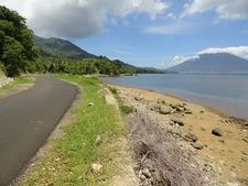 Tidore Island Coastal Road - Maluku Islands
