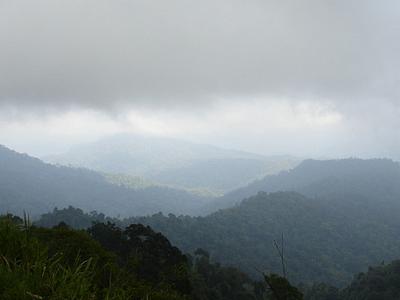 Titiwangsa Mountains Range