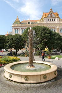 Tüke Fountain, Pécs
