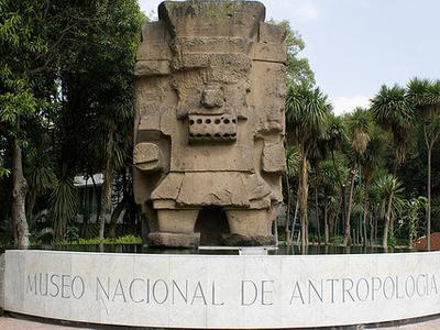 Tlaloc Statue - Coatlinchan - Mexico