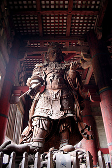 Todaiji Left Statue