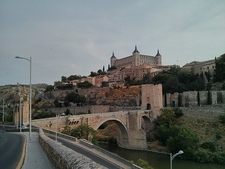 Toledo With River & Bridge View - Spain