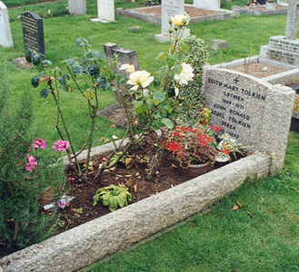 The Grave Of J. R. R. And Edith Tolkien