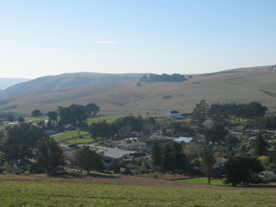 Tomales Viewed From The Northeast
