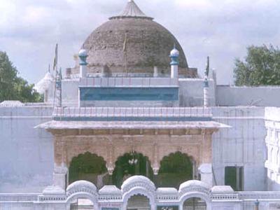 Tomb Of  Bu  Ali  Shah  Qalandar