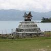 Tomb On Lake Toba Banks