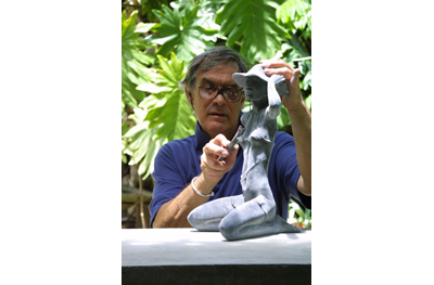 Tom Bower's Sculptures Studio