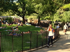 Tompkins Square Park Entrance