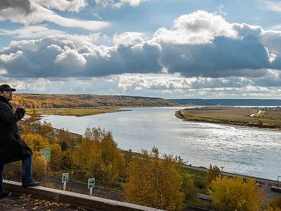 Tom' River - Tomsk Siberia
