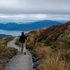 Tongariro Alpine Crossing Hiker