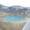 Tongariro Blue Lake - Aerial View