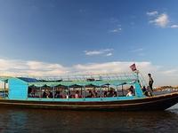 Sunset Cruise On Boat In Tonle Sap Lake