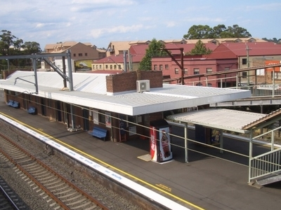 Toongabbie Railway Station