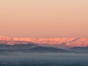 Topatopa Montañas