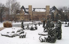 Topiary Park Winter View