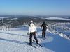 Top Of Masto - Looking Down Ruka Ski Slopes - Finland