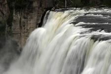 Top Of Upper Mesa Falls