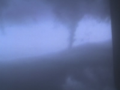 Tornado Over  Hickory  Hills