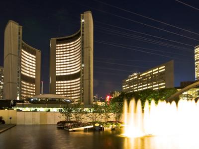 Toronto  City  Hall Night View