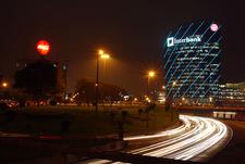 Torre Interbank Along Paseo De La Republica